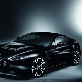 Aston Martin Vantage iPad Wallpaper