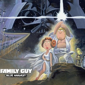 Family Guy Star Wars iPad Wallpaper