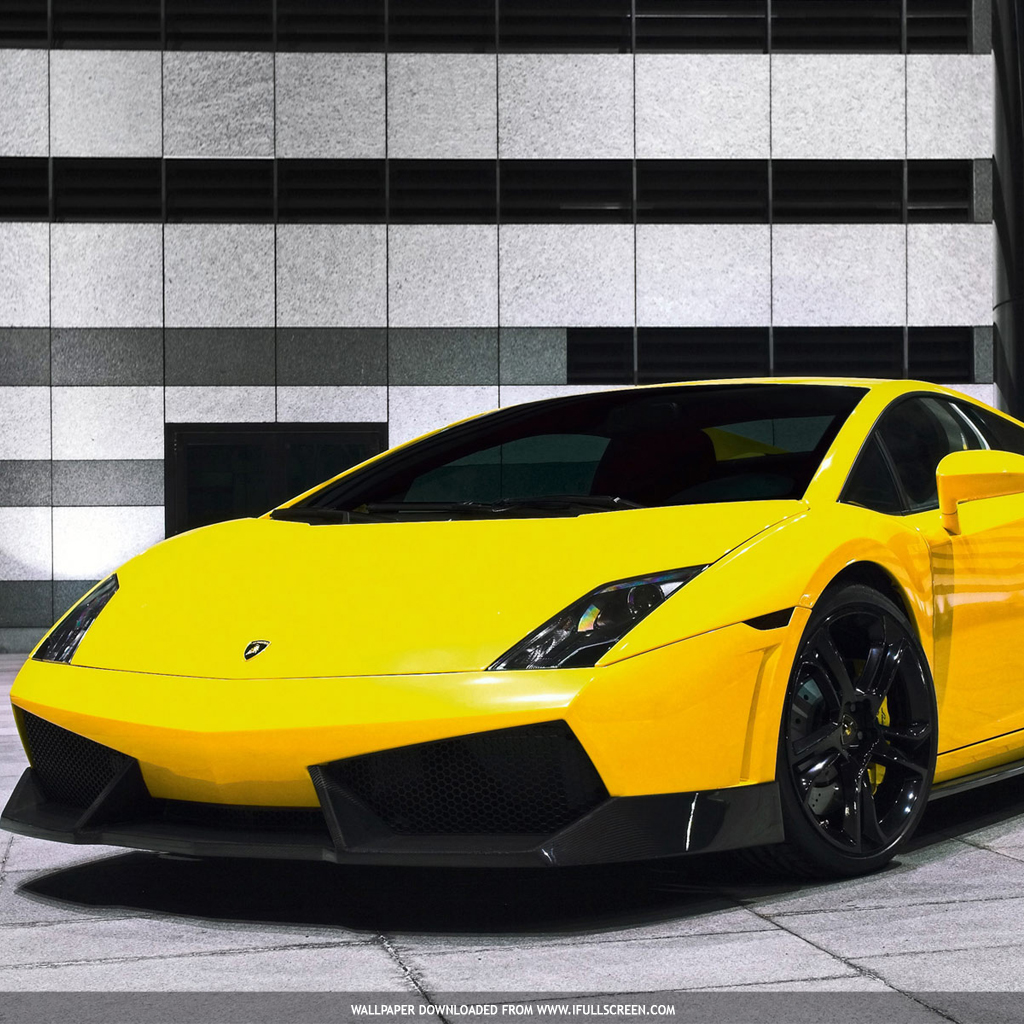 Lamborghini Gallardo IPad Wallpaper