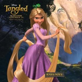 Rapunzel – Tangled iPad Wallpaper