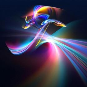 Abstract Colors iPad Wallpaper