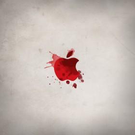 Bloody Apple iPad Wallpaper