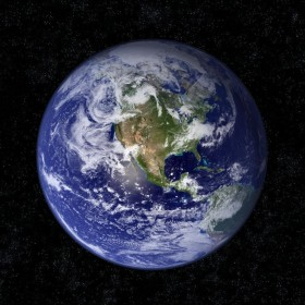 Blue Earth iPad Wallpaper