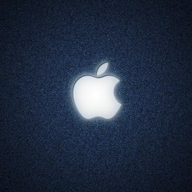 Denim Apple iPad Wallpaper
