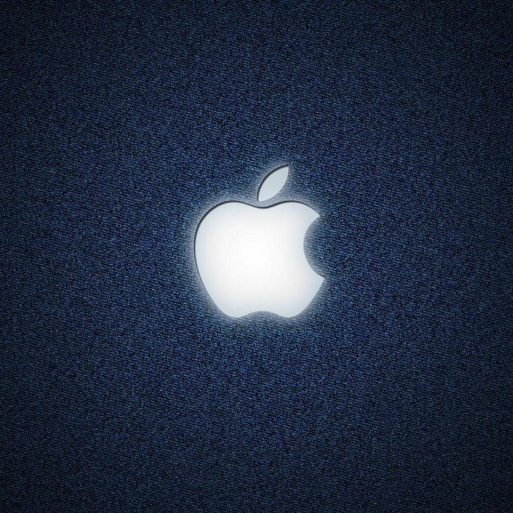 Denim Apple IPad Wallpaper