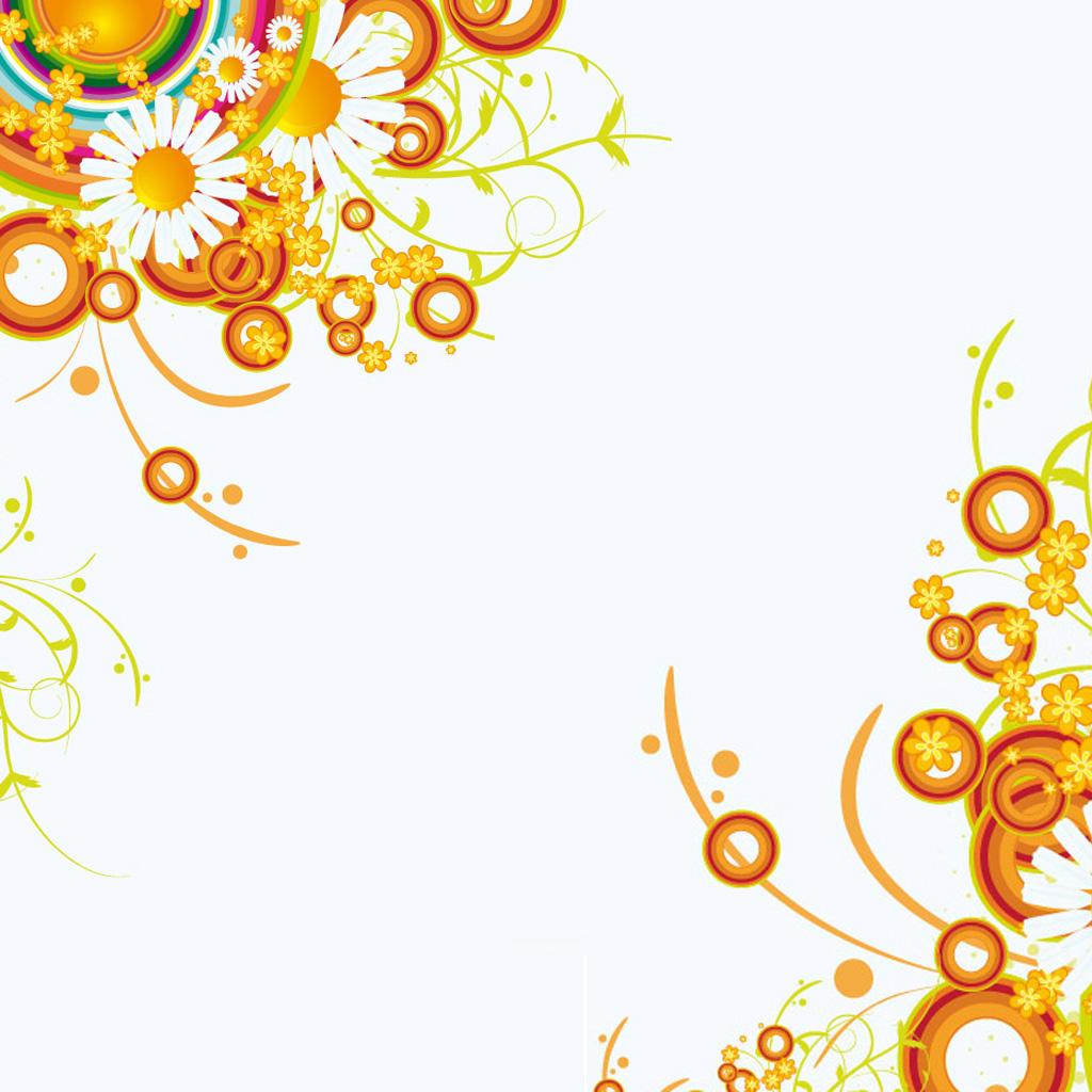 Flower Abstract Wallpaper