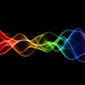 Abstract Waves iPad Wallpaper