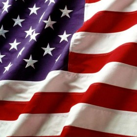 American Flag iPad Wallpaper