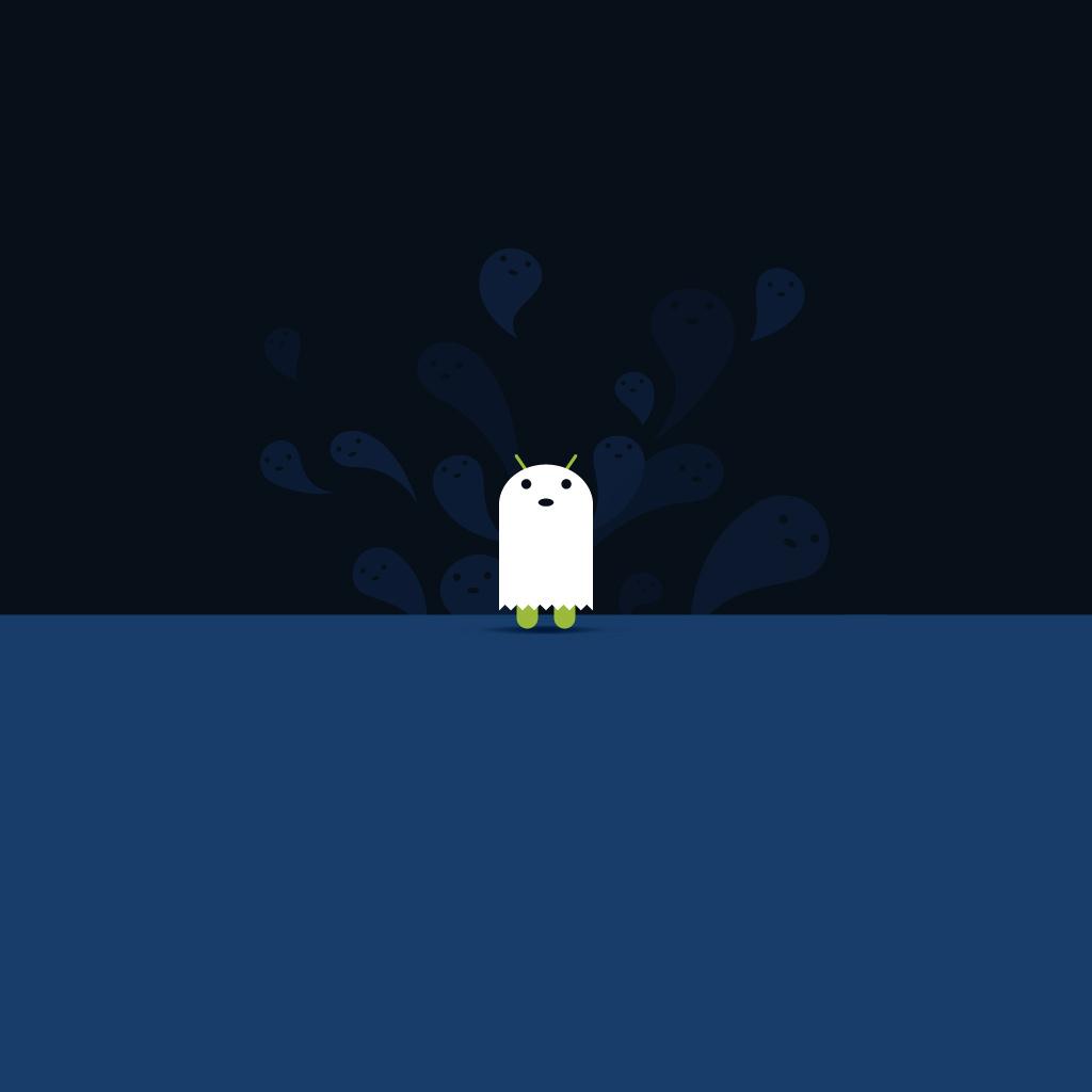 Popular Wallpaper Halloween Ipad Mini - android-ghost  Pic_176969.jpg