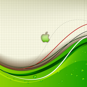 Abstract Apple Grid iPad Wallpaper