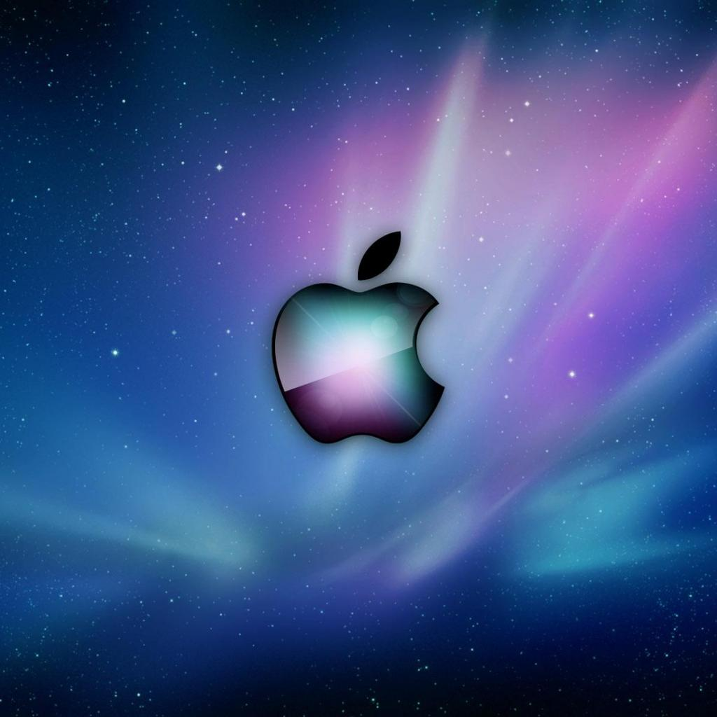 Apple Aurora IPad Wallpaper
