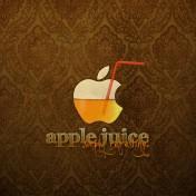 Apple Juice iPad Wallpaper