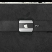 Apple Leather iPad Wallpaper