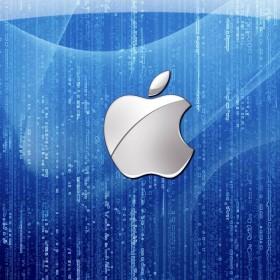 Apple Matrix iPad Wallpaper