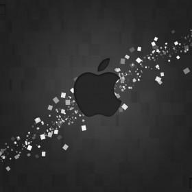 Apple Pixels iPad Wallpaper