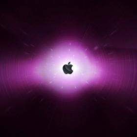 Apple Snow Leopard Logo iPad Wallpaper
