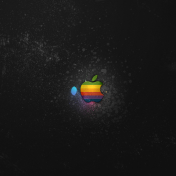 Apple Splatter iPad Wallpaper
