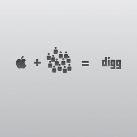 Apple Loves Digg iPad Wallpaper