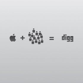 Apple Loves Digg iPad Wallpaper