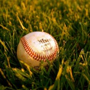 Baseball Closeup iPad Wallpaper
