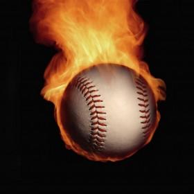 Great Balls of Fire iPad Wallpaper