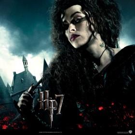 Harry Potter Deathly Hallows Bellatrix iPad Wallpaper