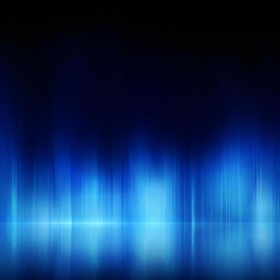 Blue Light Reflection iPad Wallpaper