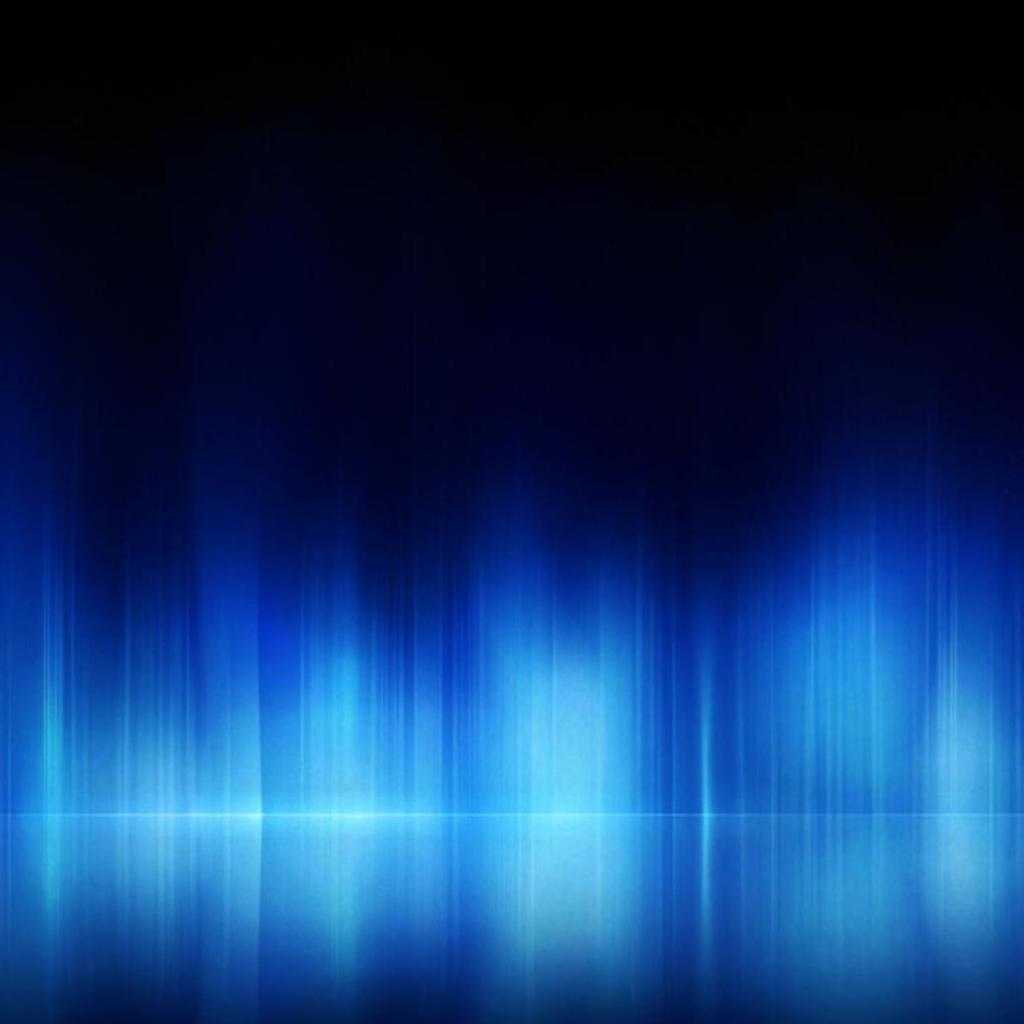 Light Blue And Beige Living Room: Blue Light Reflection IPad Wallpaper