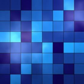 Blue Tiles iPad Wallpaper