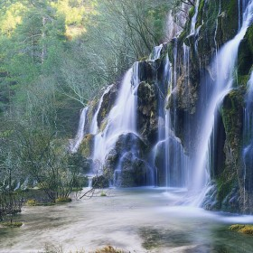 Cascading Waterfall iPad Wallpaper