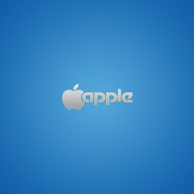 Classic Apple Logo iPad Wallpaper
