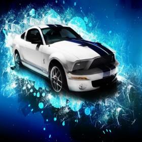 Cobra Mustang iPad Wallpaper