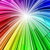 Color Burst iPad Wallpaper