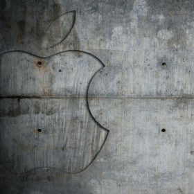 Concrete Apple iPad Wallpaper