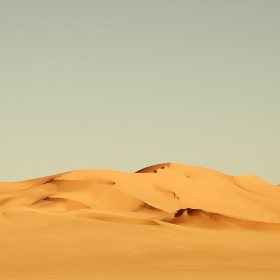 Dry Desert iPad Wallpaper