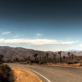 Desert Road iPad Wallpaper
