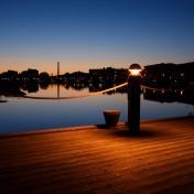 Dock Light iPad Wallpaper