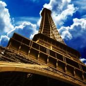 Eiffel Tower iPad Wallpaper