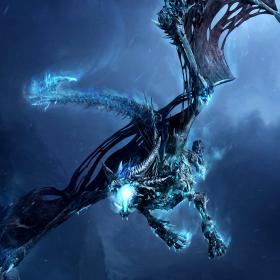 Evil Dragon iPad Wallpaper