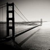 Foggy Bridge iPad Wallpaper
