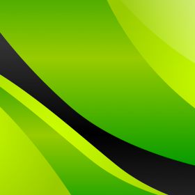 Green and Black iPad Wallpaper