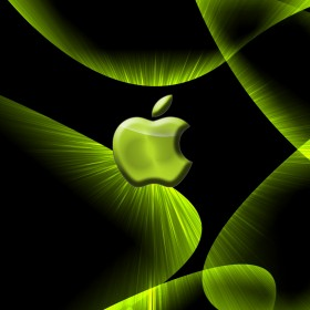Green Apple iPad Wallpaper
