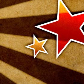 Grunge Stars iPad Wallpaper
