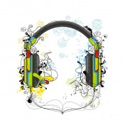 Headphones iPad Wallpaper