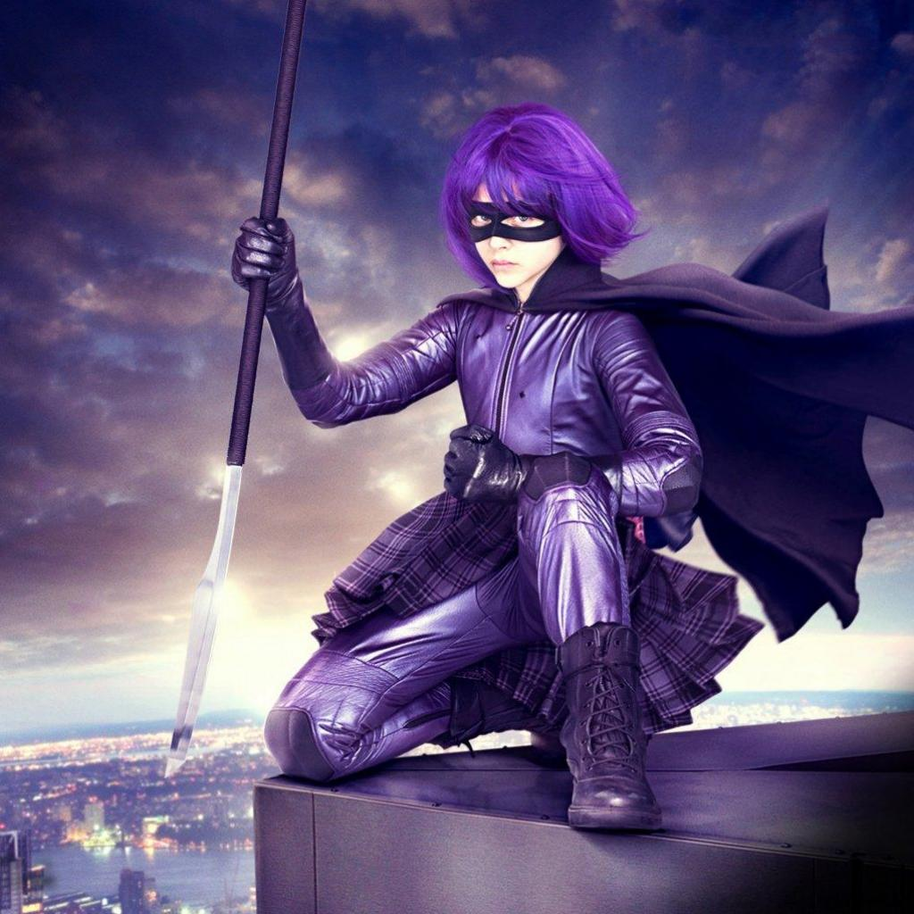 Love Wallpaper Kickass : Hit Girl iPad Wallpaper ipadflava.com