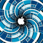 Apple Vertigo iPad Wallpaper