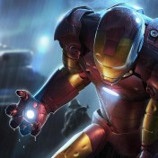Iron Man iPad Wallpaper