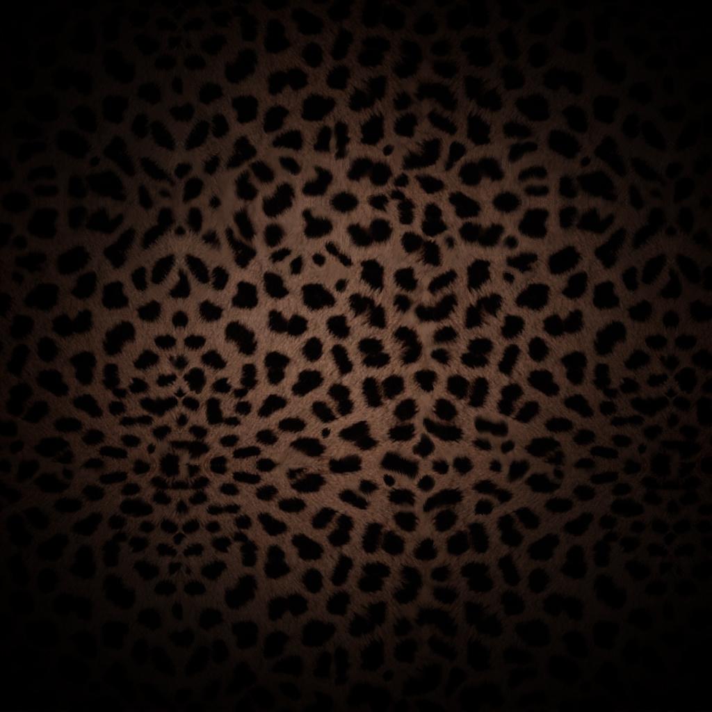 leopard print ipad wallpaper