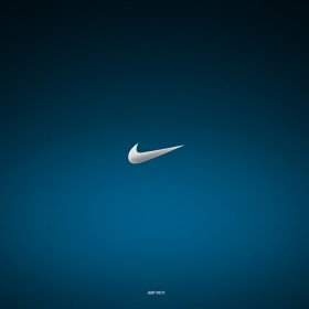 Nike Just Do It Logo iPad Wallpaper