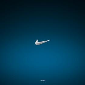 Nike Just Do It Logo iPad Wallpaper